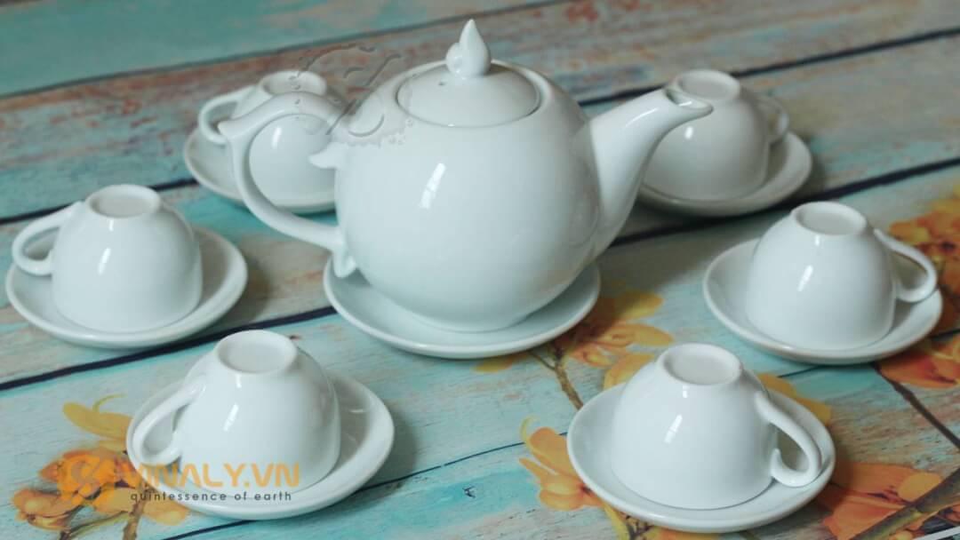 Bộ ấm trà Vinaly mẫu 3