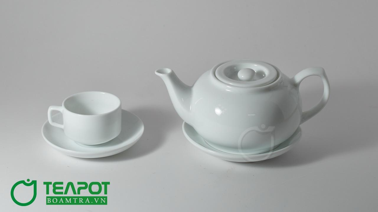 Bộ ấm trà Vinaly mẫu 08 - 1 tách